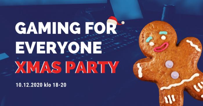Gaming for everyone xmas party